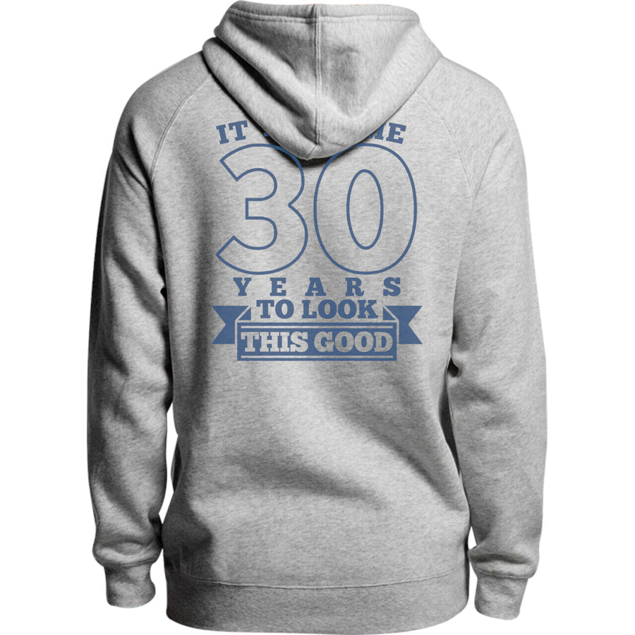 Took Me 30 Years - Unisex Hoodie - Plus Size - Graphic Tees Australia