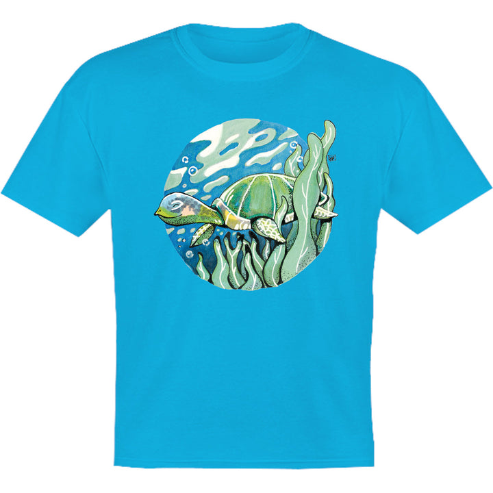 Turtle - Youth & Infant Tee - Graphic Tees Australia
