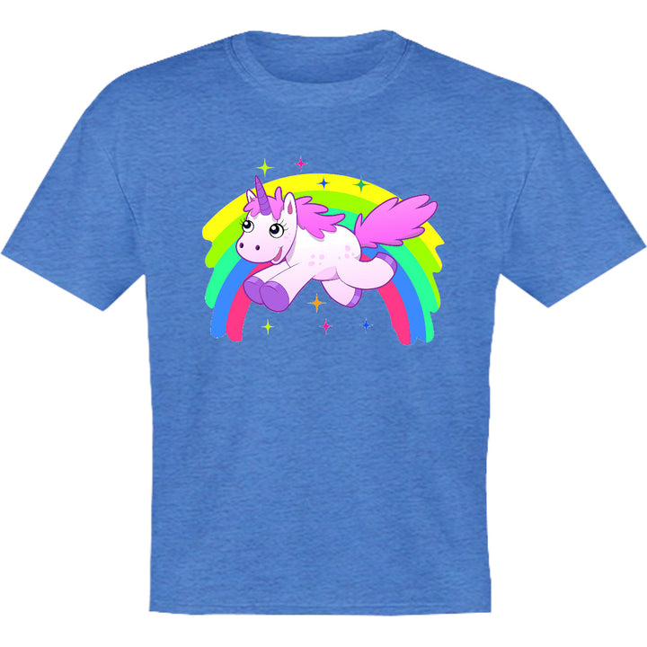 Unicorn Rainbow - Youth & Infant Tee - Graphic Tees Australia
