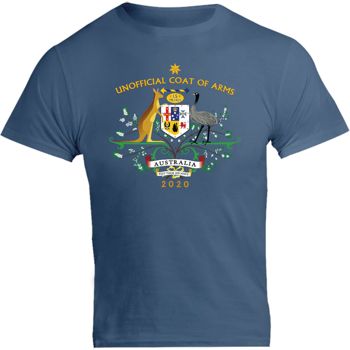 Unofficial Coat Of Arms - Unisex Tee - Graphic Tees Australia