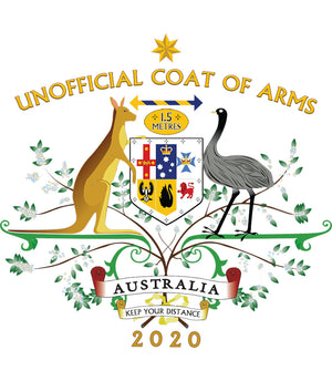 Unofficial Coat Of Arms - Adult & Youth Hoodie - Graphic Tees Australia