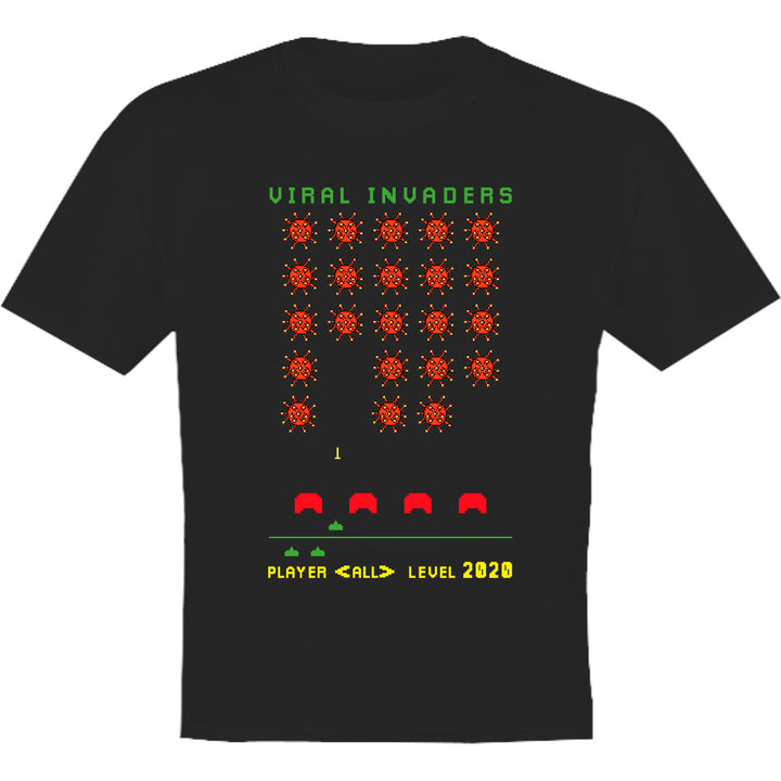 Viral Invaders - Youth & Infant Tee - Graphic Tees Australia