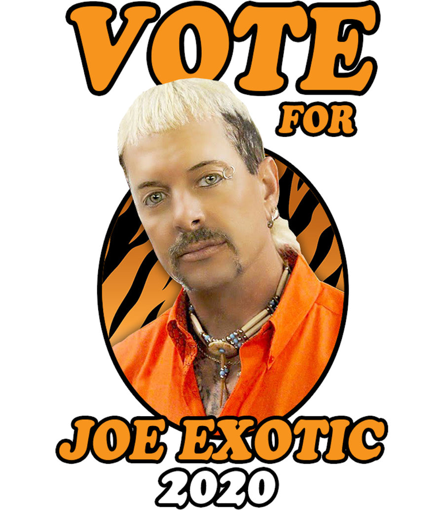 Vote Joe Exotic 2020 - Adult & Youth Hoodie - Graphic Tees Australia