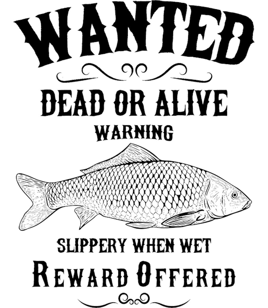 Wanted Dead Or Alive - Ladies Slim Fit Tee - Graphic Tees Australia