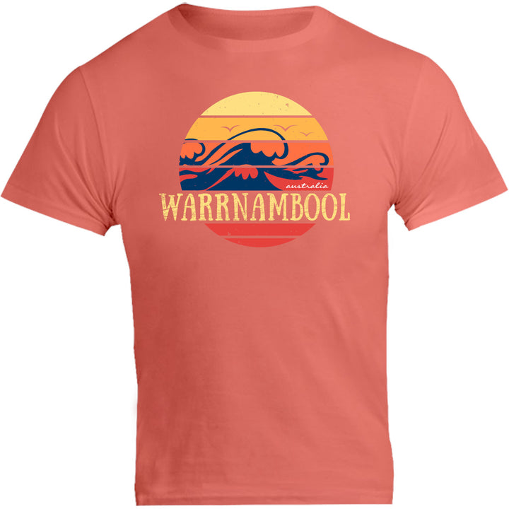 Warrnambool Circle Wave - Unisex Tee - Graphic Tees Australia