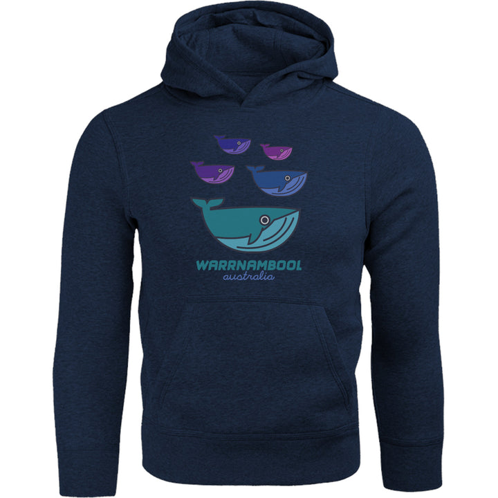 Warrnambool Whale Group - Adult & Youth Hoodie - Graphic Tees Australia