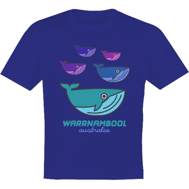 Warrnambool Whale Group - Youth & Infant Tee - Graphic Tees Australia