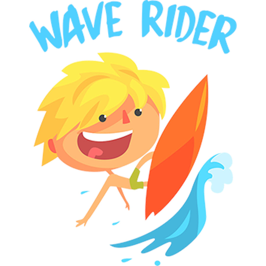 Wave Rider - Adult & Youth Hoodie - Graphic Tees Australia