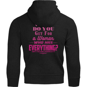 What Do You Get For A Woman - Adult & Youth Hoodie - Graphic Tees Australia