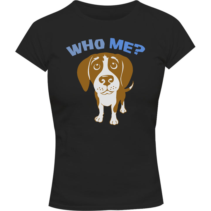 Who Me? - Ladies Slim Fit Tee - Graphic Tees Australia