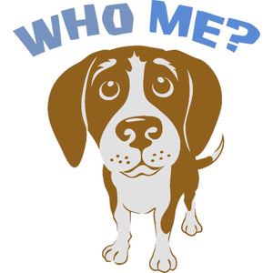 Who Me? - Ladies Relaxed Fit Tee - Graphic Tees Australia
