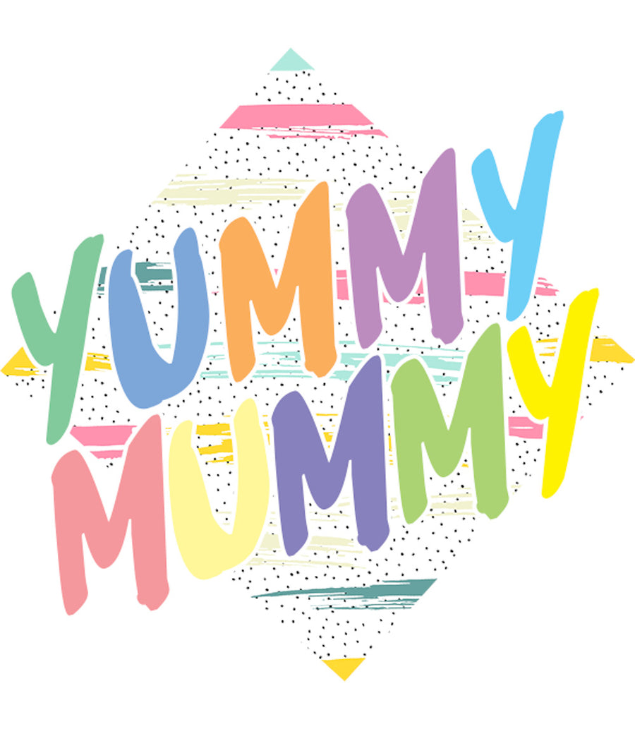 Yummy Mummy - Ladies Relaxed Fit Tee - Graphic Tees Australia