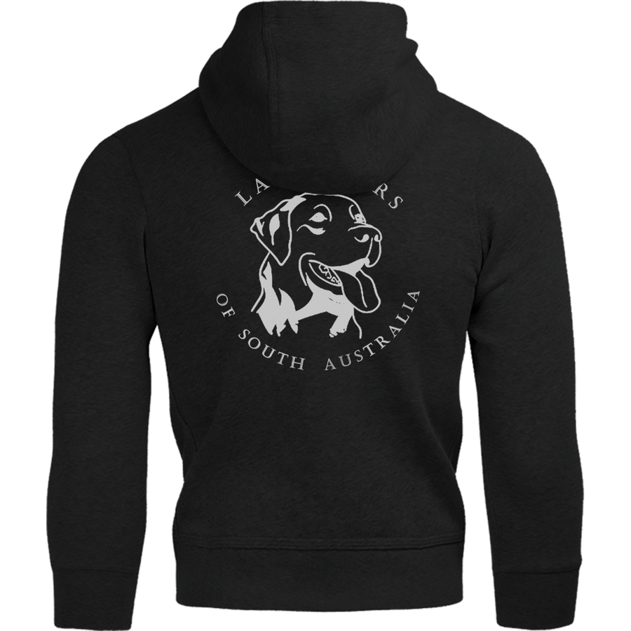 Labradors of South Australia Back Logo - Adult & Youth Hoodie