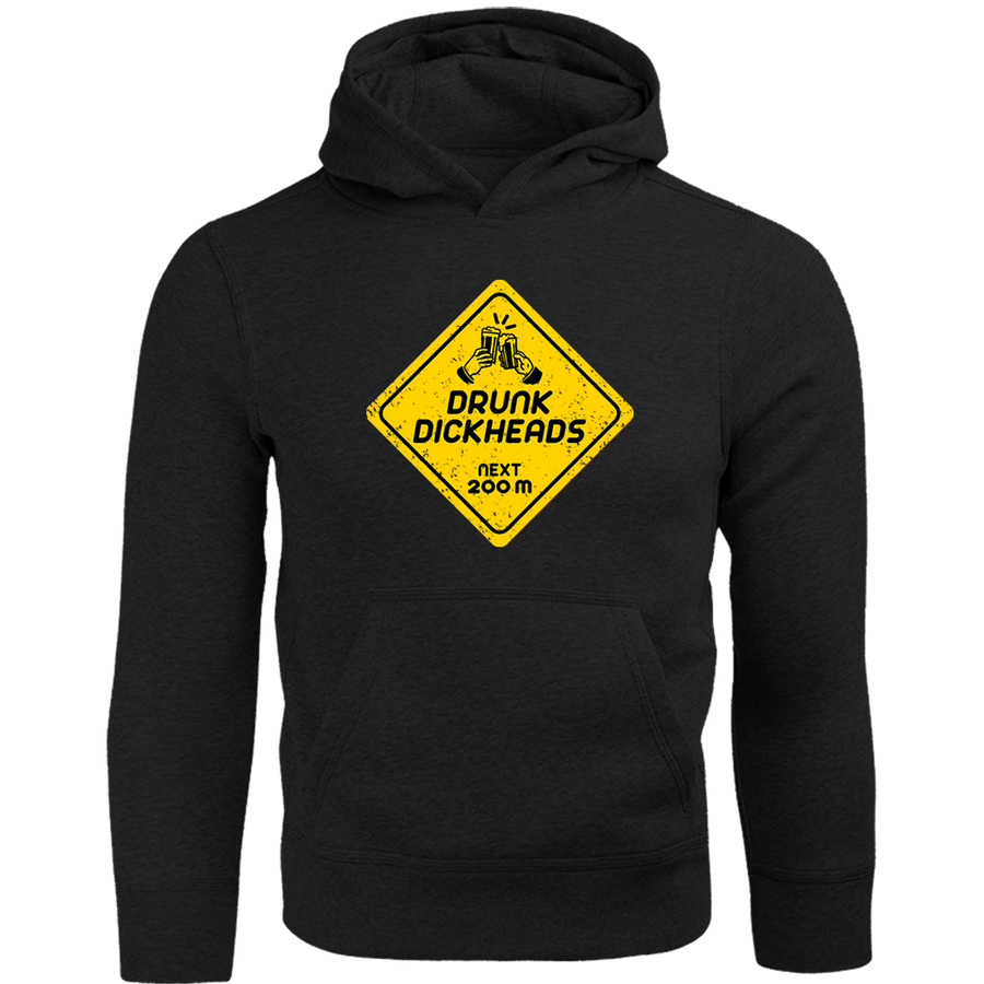 Drunk D*ckheads Ahead - Adult & Youth Hoodie