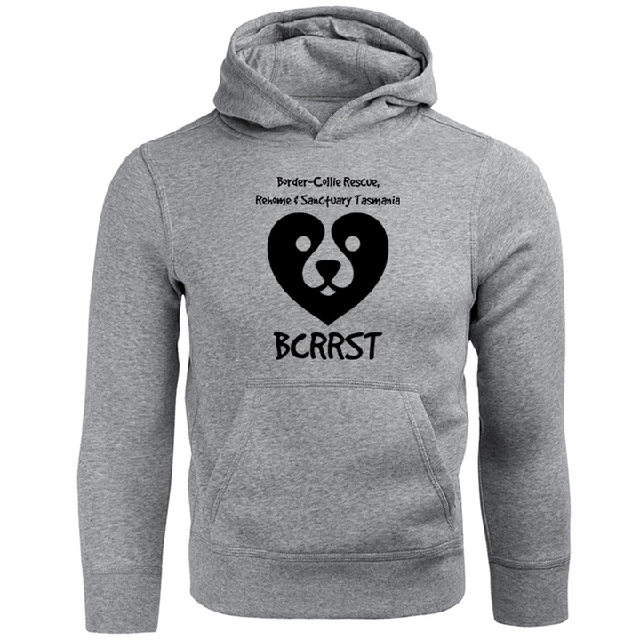 Border-Collie Rescue, Rehome & Sanctuary Tasmania - Unisex Hoodie - Graphic Tees Australia