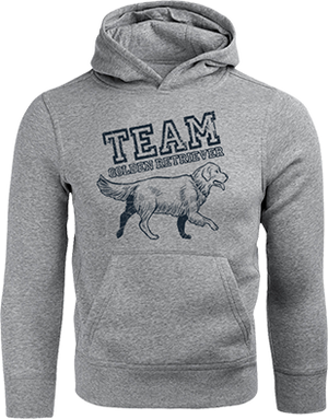 Team Golden Retriever - Unisex Hoodie - Graphic Tees Australia