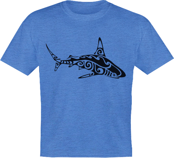 Tribal Shark - Youth Tee