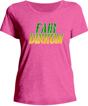 Fair Dinkum - Ladies Relaxed Fit Tee