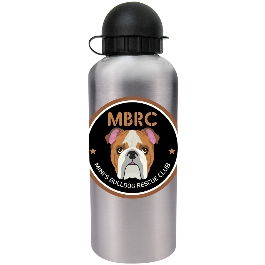 Mini's Bulldog Rescue Club - Drink Bottle