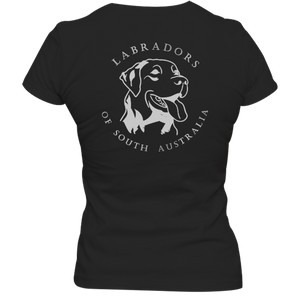 It's A Lab's Life Labradors of South Australia - Ladies Slim Fit Tee