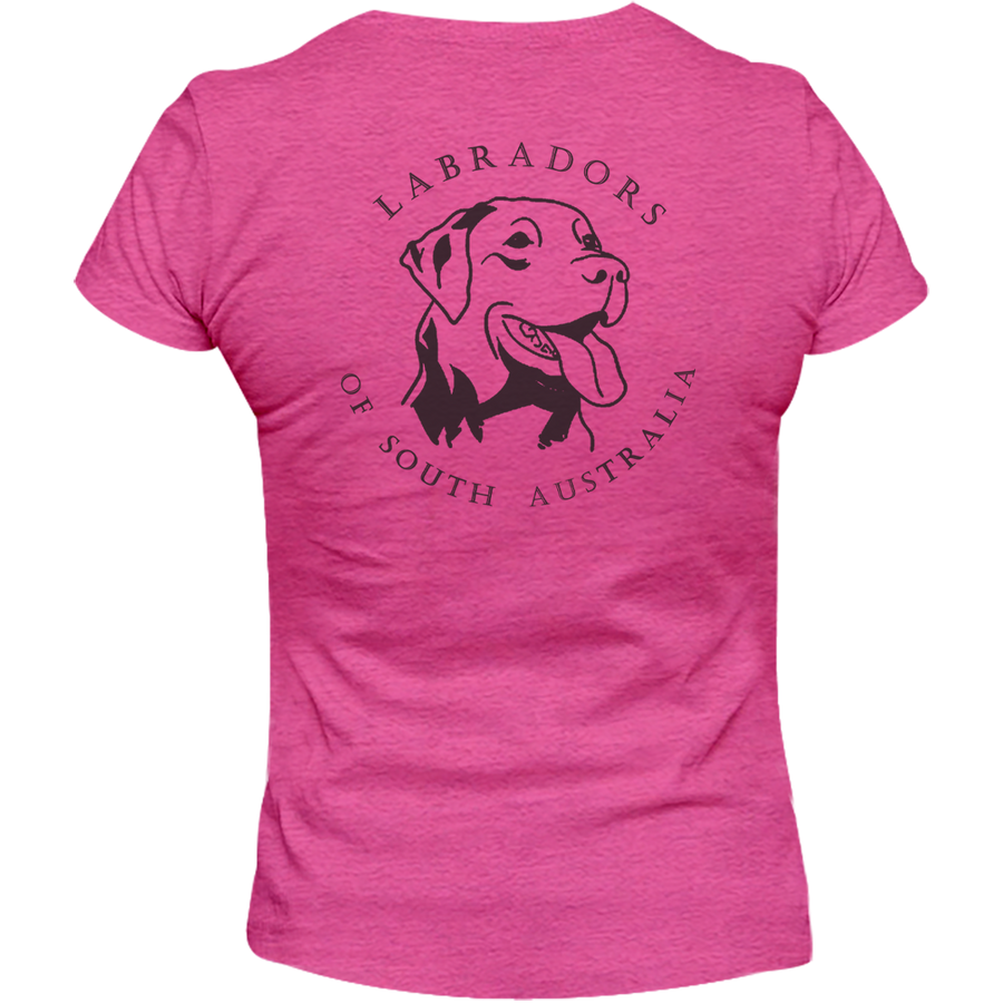 I Love My Lab Labradors of South Australia - Ladies Relaxed Fit Tee
