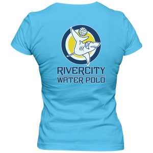 River City Water Polo front & back - Ladies Slim Fit Tee