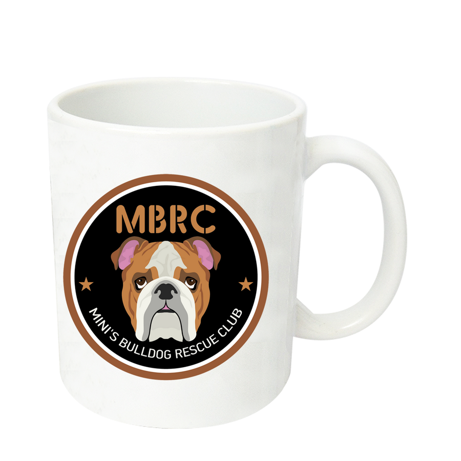 Mini's Bulldog Rescue Club - Ceramic Mug