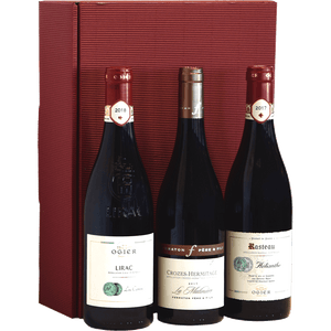 Gift box - Wine from the Rhone valley--Contaynor