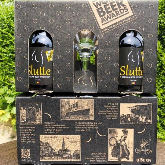 Slutte-Double Gift pack (8x33cl)-Contaynor