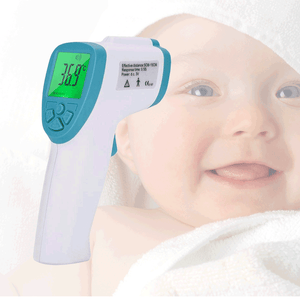 Digital Forehead and Ear Thermometer Professional Infrared Braun Temporal Fever Hand Held Thermometers Non Contact Accurate Instant Readings Laser Temperature Gun for Baby Kids Adults