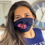 Face Mask w/ Filter Lining - Washable & Reusable
