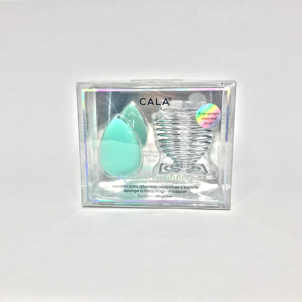 Beauty Sponge & Holder - Tear Drop Sponge (MINT)