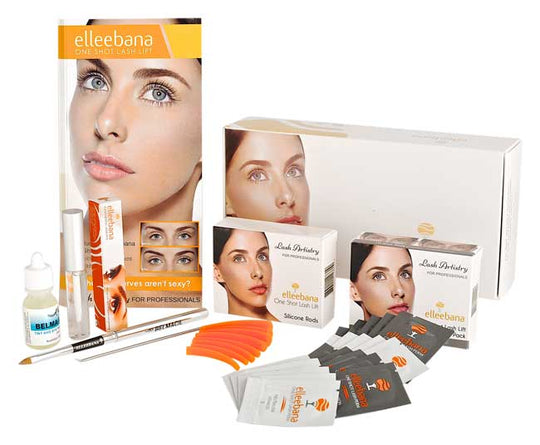 Elleebana Lash Lift Starter Kit & Belmacil Mini Kit Bundle