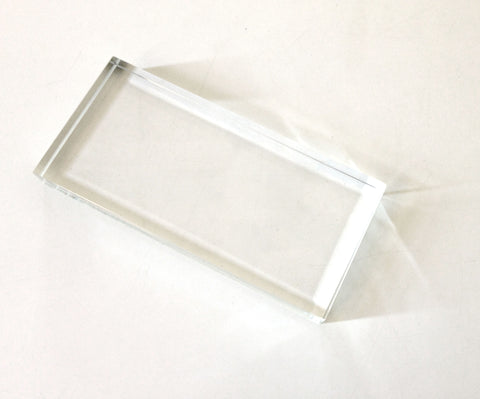 Crystal Chip Tray - Clear