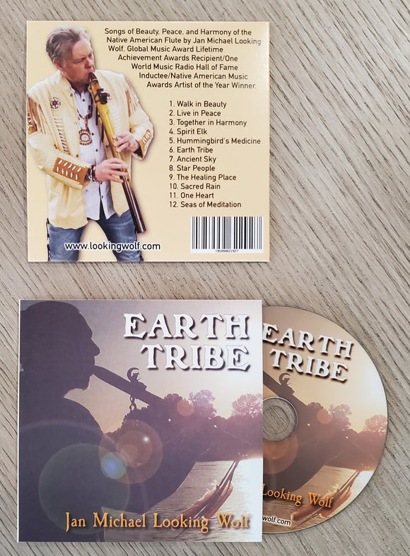 Earth Tribe Autographed CD