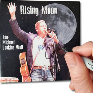 "Autographed ""Rising Moon"" CD - 2 disks set"