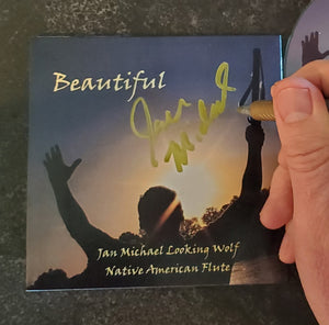 "Autographed ""Beautiful"" CD"