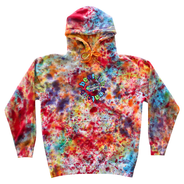 Embroidered Logo Multi-Color Hoodie