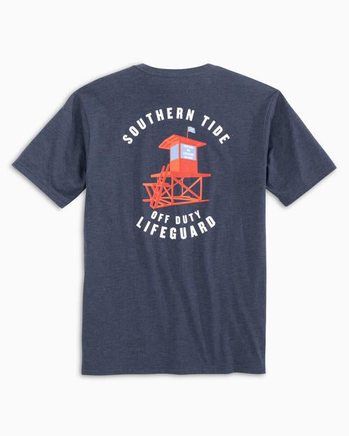 Southern Tide Off Duty Lifeguard - Heather Navy