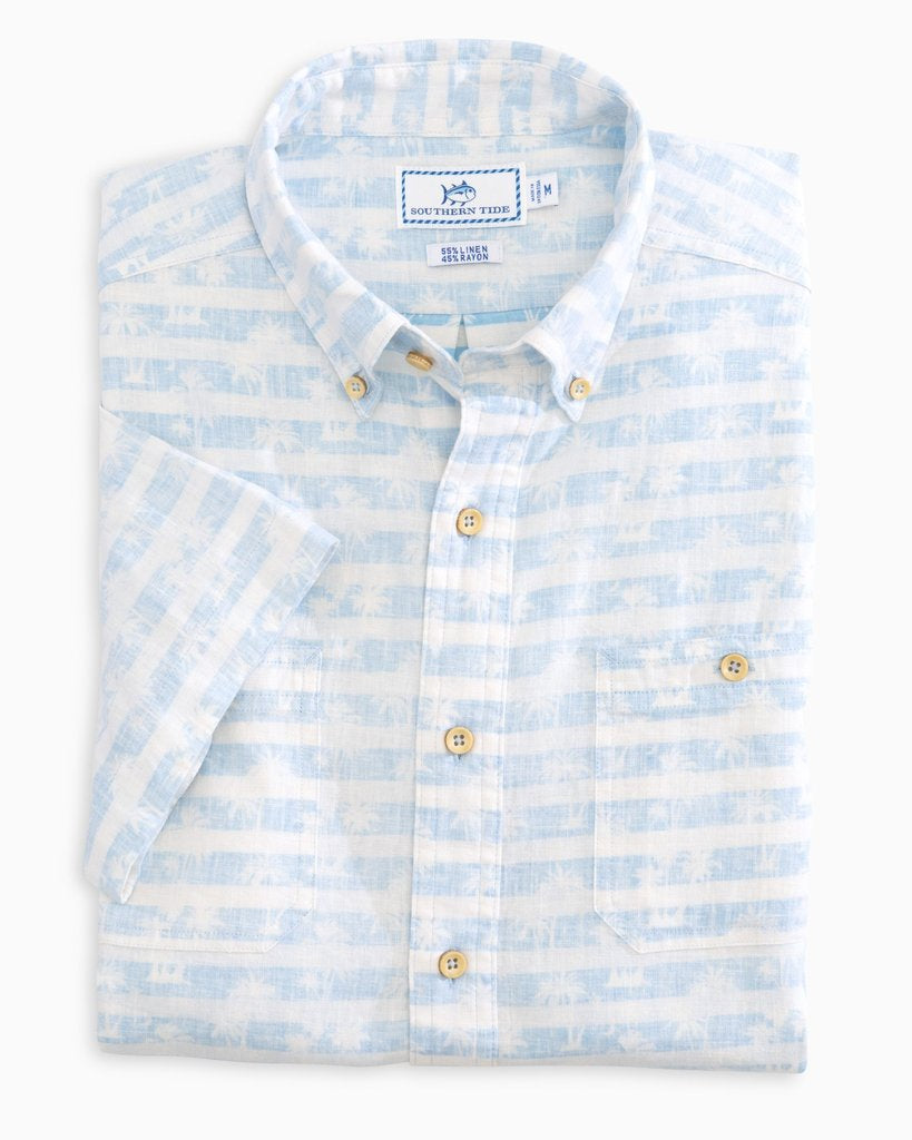 Southern Tide Doc Palm Performance Shirt