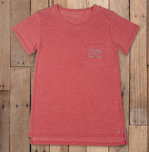 Southern Marsh Seawash Authentic Crewneck - Strawberry Fizz