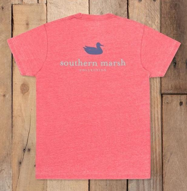 Southern Marsh Seawash Authentic Tee - Strawberry Fizz