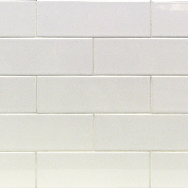 4x12 White Subway Tile