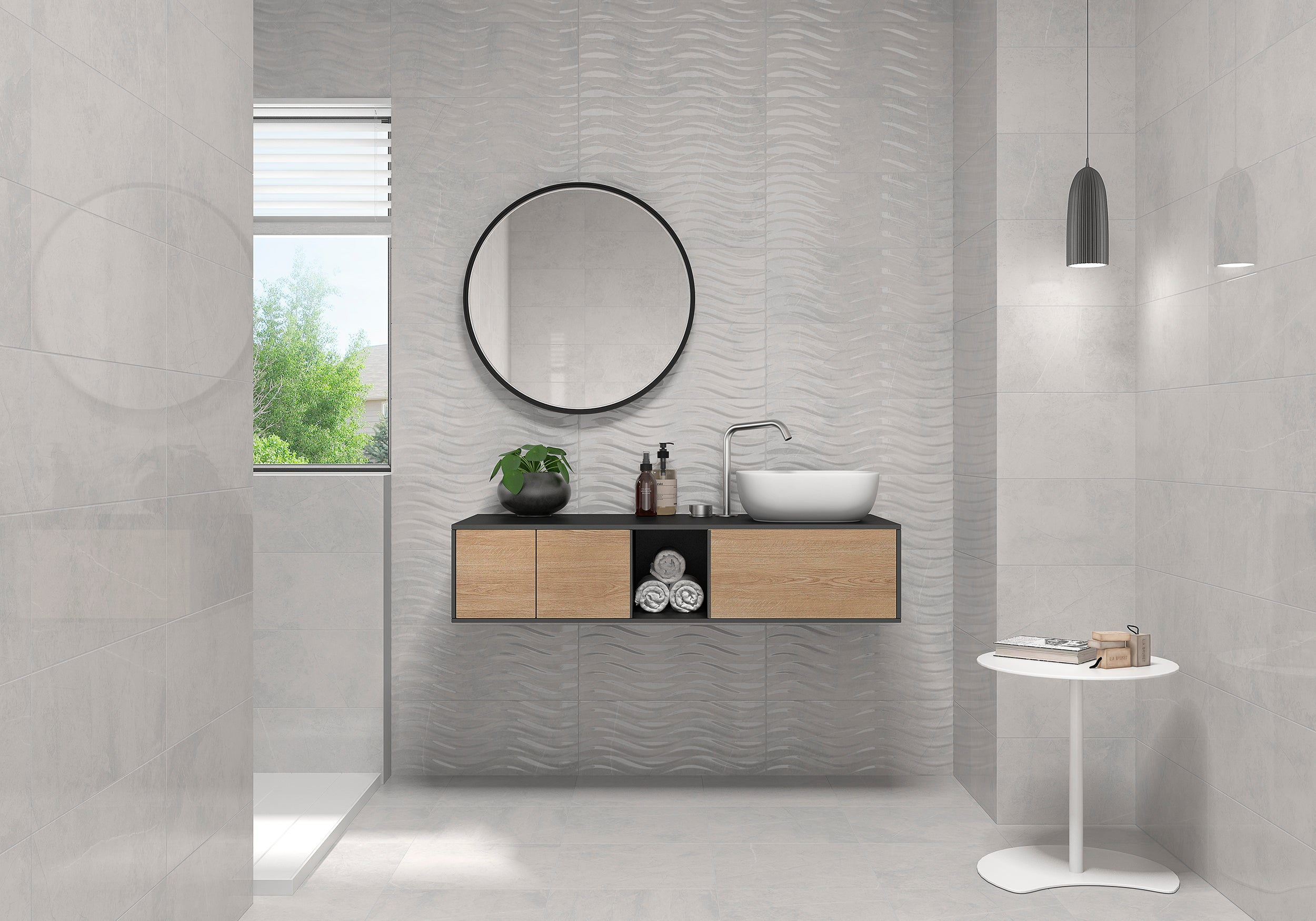 Buckingham Bend Perla Decor - Faiola Tile