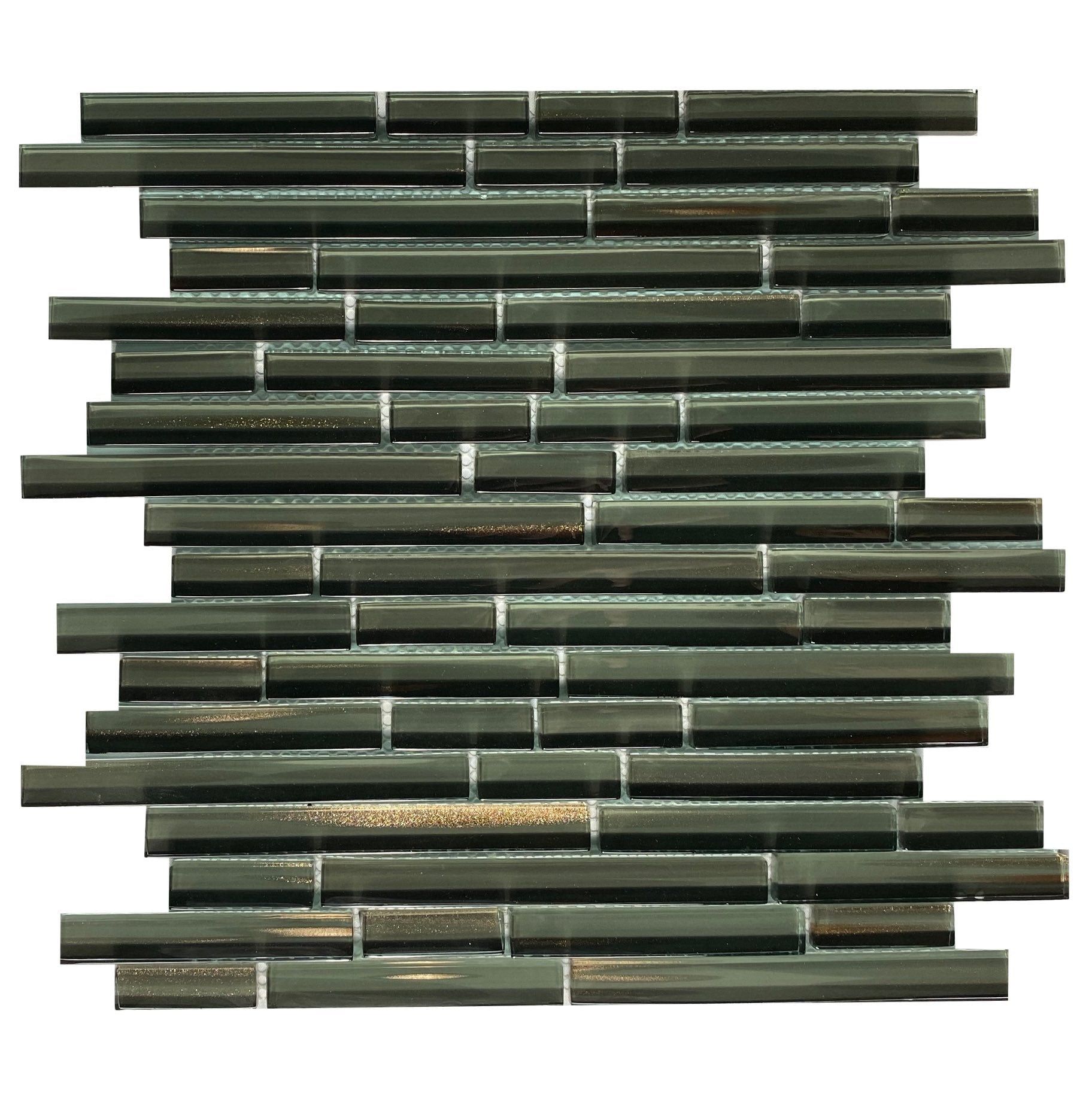 Bamboo Glass - B32 Random Strip - Faiola Tile