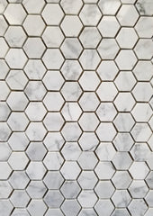 Cararra Hexagon - Faiola Tile