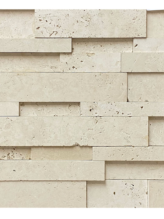 Cubic Ivory Stone Wall Cladding 6