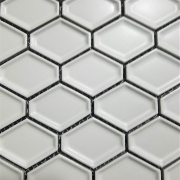 Diamond White Matte Hex