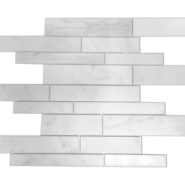 Ice White Marble Strips