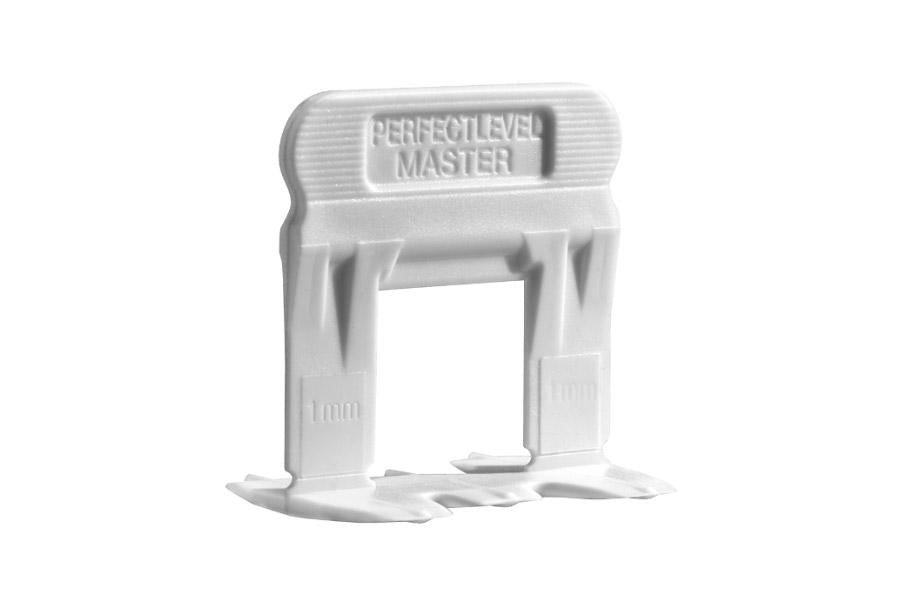 Perfect Level Master T-Lock Clips 1mm - Faiola Tile
